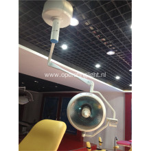 Single dome halogen operating lamp for vet operation