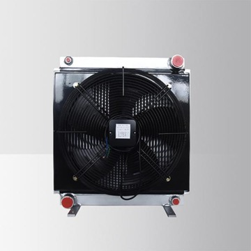60L/min air cooled hydraulic oil cooler