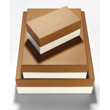 wholesale brown kraft gift box set with lid
