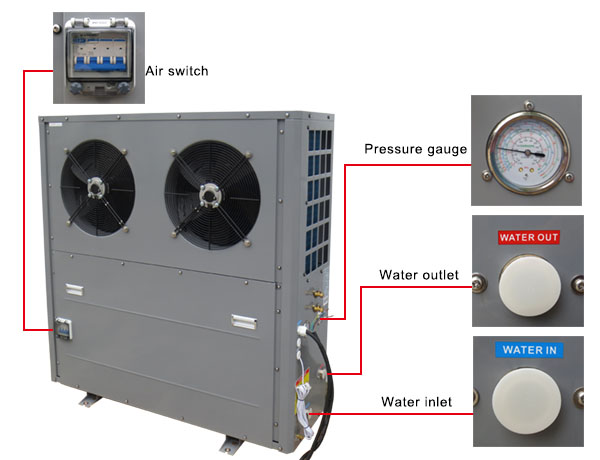 Heat Pump Water Heater for House