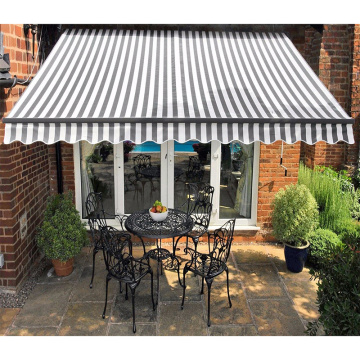 manual awning backyard retractable outdoor