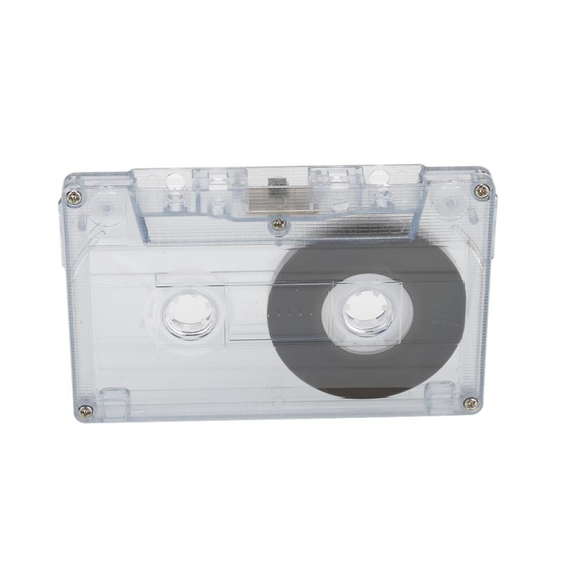 60 Minutes Cassette Blank Tape Playe Recorder Machine Magnetic Audio Tape Recording For Speech Music Recording CD DVD Drive Tape