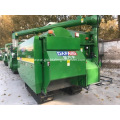 grain wheat rice combine harvester crawler type