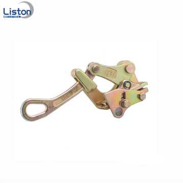 Easily Operated Galvanized Forged Steel Wire Rope Grip