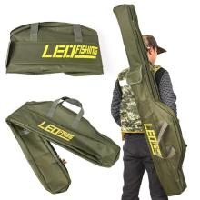 100cm/150cm Fishing Bags Portable Folding Fishing Rod Carrier Canvas Fishing Pole Tools Storage Bag Case Fishing Gear Tackle