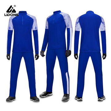 Mens Long Sleeve Sweatsuit Casual Jacket & Pants