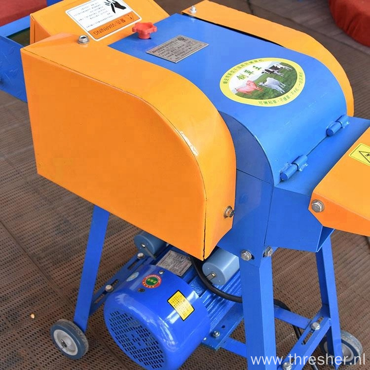 Automatic Small Animal Feed Grass Silage Cutting Crusher
