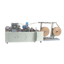 two gluing system twisted paper handle making machine
