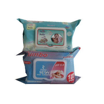 Disposable Disinfectan Baby Wet Wipes Custom Size