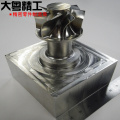 5 axis CNC machining impeller and precision components