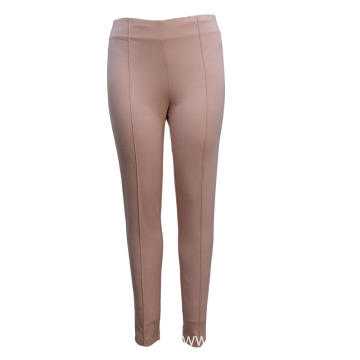 Ladies Pants Knit Trousers Ponte Basic Style