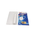Medical edgefold sliding blister card packaging