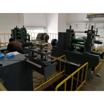 Precision sheet metal slitting machine