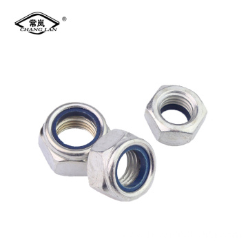 DIN958  Nylon lock nut