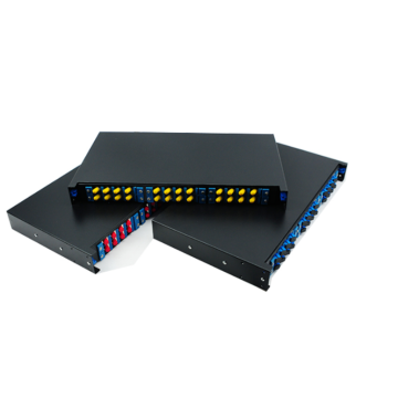 1U Sliding Patch Panel 24 Core