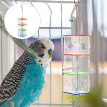 Parrot Hanging Foraging Feeder Acrylic Food Holder Training Pet Pet Supply