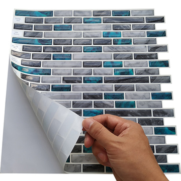 Mosaic Decoration Removable Peel and Stick Tile Backsplash