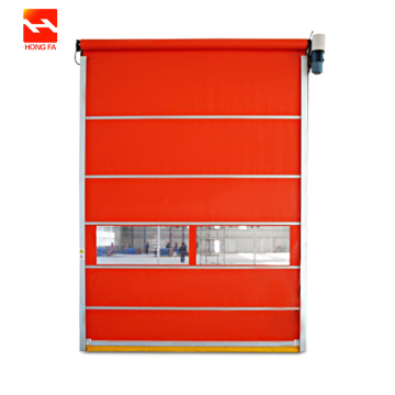 Chemical Plant Automatic PVC High Speed Door