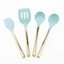 4PCS Heat Resistant Silicone Kitchen Utensils