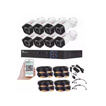 DIY 8 Channel 1080P AHD CCTV kit