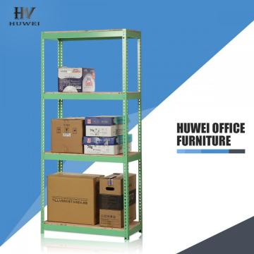 Steel warehouse slotted angle shelf rack