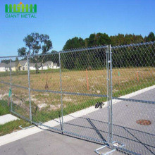 6'x12' Galvanized Temporary Chain Link Fence Panel Stand