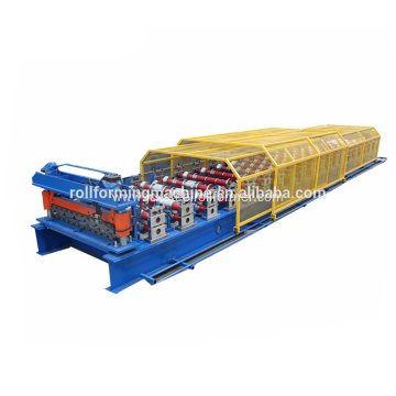 Galvanised Steel Roofing Sheet Roll Forming Machine