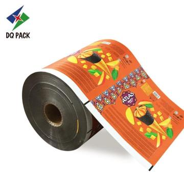 Printed Food Grade Auto Pack Film Roll