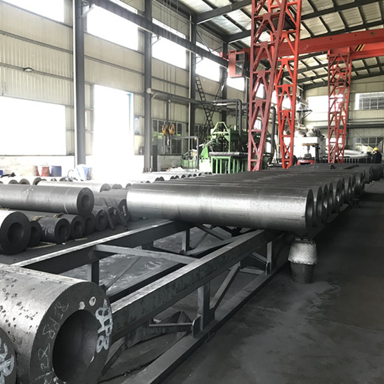 6'' Graphite Electrodes 4TPI for making iron