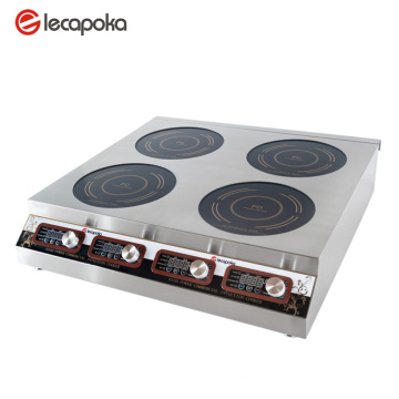 Stainless Steel 4 Burners Cooktop