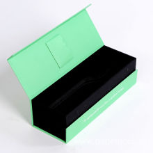 Custom Rigid Book Shape Gift Coated Paper Box
