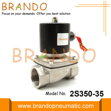 2S350-35 1-1/4'' Stainless Steel Solenoid Valves For Water