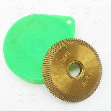 PF009 DF001 milling cutter titanium-plated HSS steel 60x 6 x12.7 45 degree 95 teeth for Defu horizontal key cut machine