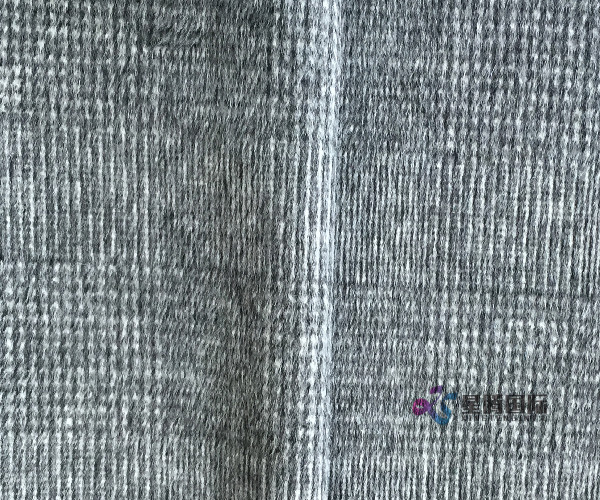 Newest Thick Woven Wool Blended Fabric