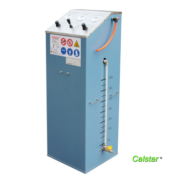 Auxiliary matching device for solvent recovery machine