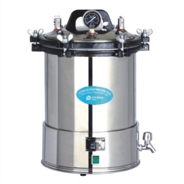 Laboratory stainless steel 18l portable autoclave
