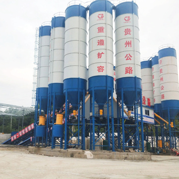 Stationary type mini 60m3 concrete batching plant Machine