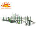 Green Outdoor Playground Equipment Available