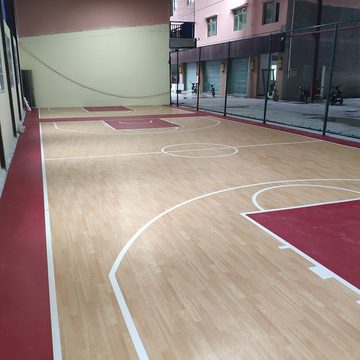 indoor best PVC Basketball Flooring