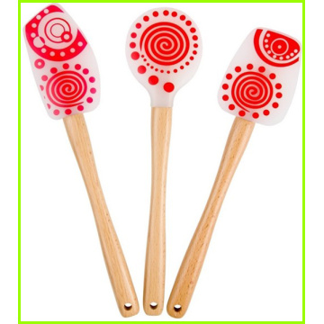 Novelty Silicone Spatula Set For BBQ