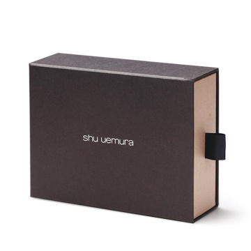 Small Rigid Black Drawer Paper Box