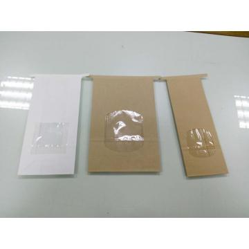Tin Tie Paper Bag with Window