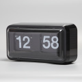 Black Box Flip Clock with Cover