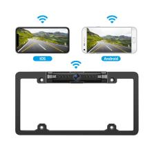 WiFi Car Backup Kamera yeUSA License Frame