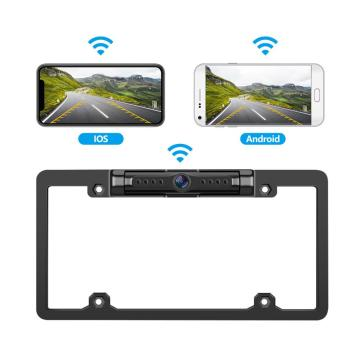 WiFi Car Backup Camera für USA License Frame