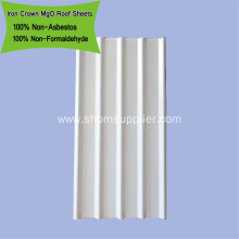 Corrosion-resistant Heat-Insulation Anti-UV MgO Roof Sheet