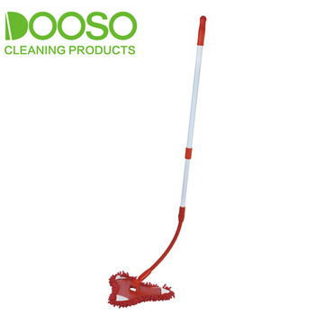 Bendable Handle Microfibre Triangle Dust Mop DS-1210