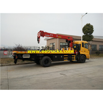 Dongfeng 10ton Tow Truck Wreckers with Cranes