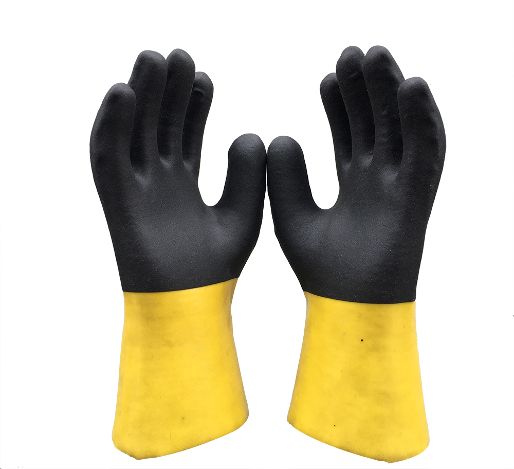 30cm Double Dipped pvc gloves