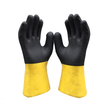 Chemical Reisitant Gloves with Jersey
